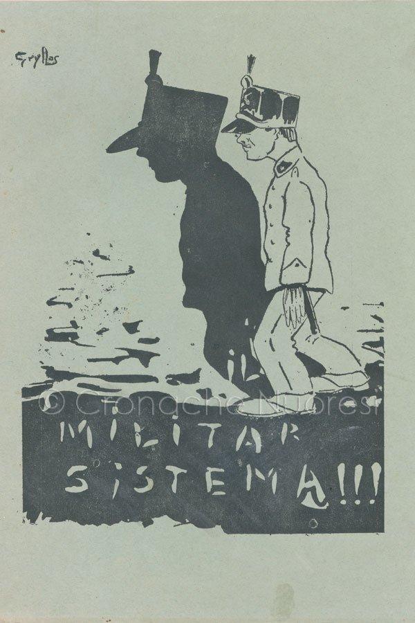 Michele Papandrea, Il Militar sistema !!! (1904)