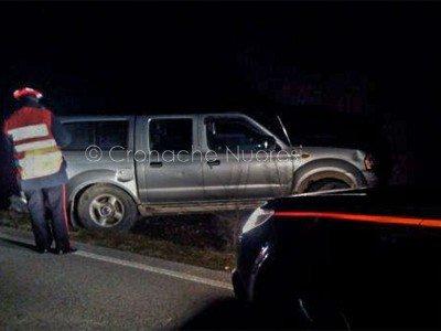 L'auto killer subito dopo l'incidente