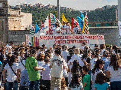 Manifestazione a Nuoro contro il DDL