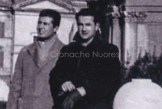 Nedo Pirisino con Giuseppe Tanchis