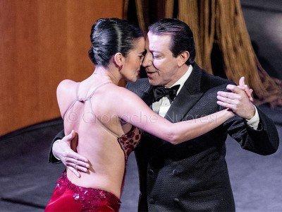 Miguel Angel Zotto e Daiana Guspero (foto S.Novellu)