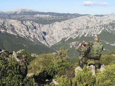 I Carabinieri in perlustrazione