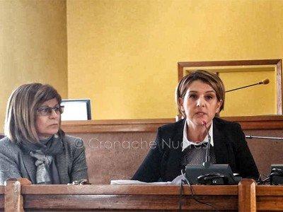 L'assessore al Bilancio Rafaellina Denti (foto Cronache Nuoresi)