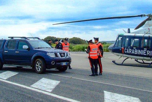Il posto di blocco dei Carabinieri