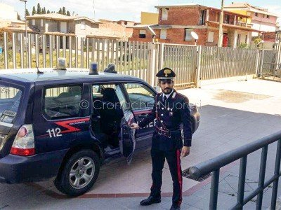 I Carabinieri di Escalaplano