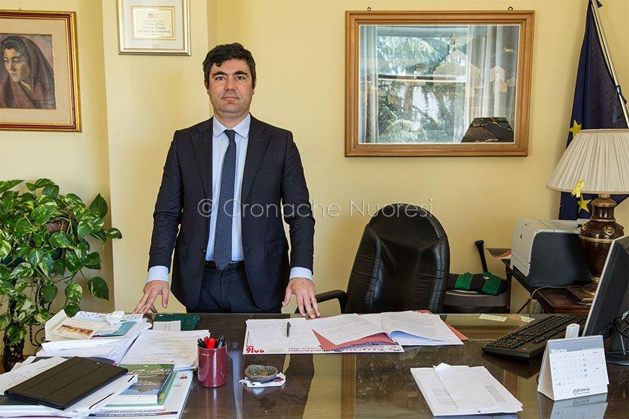 Il sindaco di Nuoro Andrea Soddu (foto S.Meloni)