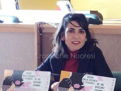 L'assessore ai Servizi Sociali Valeria Romagna (foto Cronache Nuoresi)