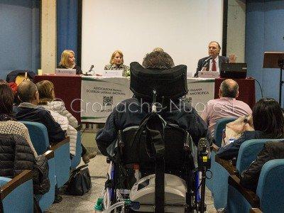 Il convegno dell'AISLA alla Biblioteca Satta (foto Cronache Nuoresi)