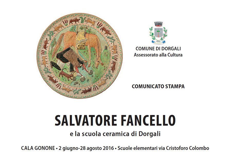 Salvatore Fancello e la scuola ceramica di Dorgali: dal 2 giugno a Cala Gonone