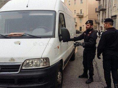 Orgosolo, il furgone preso di mira dai rapinatori