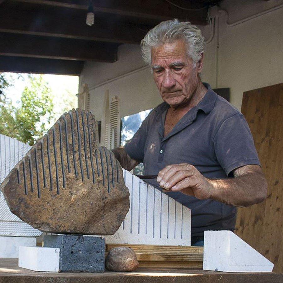 L'Arte sarda in lutto dice addio a Pinuccio Sciola