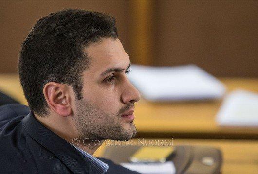 Il capo gruppo PD in Consiglio comunale Tore Sulas (foto S.Novellu)