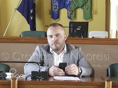 L'assessore ai Lavori Pubblici Antonio Belloi (foto Cronache Nuoresi)