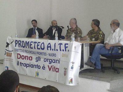 L'incontro tra l'Associazione Prometeo e la Brigata Sassari