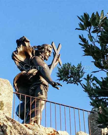 La statua del Redentore sul Monte Ortobene (foto S.Novellu)