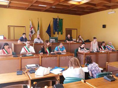 Un momento dell'incontro con i sindaci organizzato dall'assessore Valeria Romagna (foto Cronache Nuoresi)