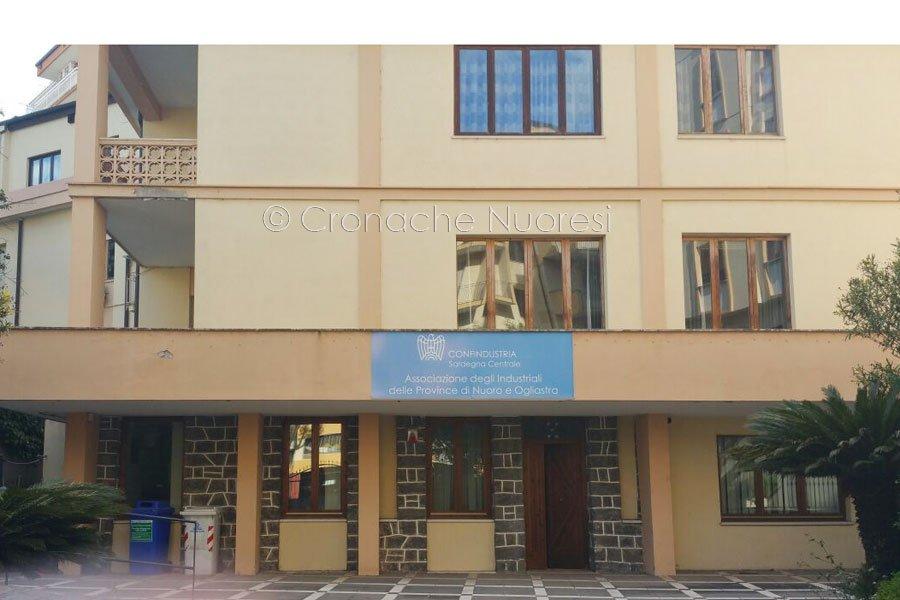 La sede di Confindustria (Foto Cronache Nuoresi)