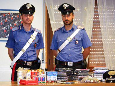 I Carabinieri con la refurtiva