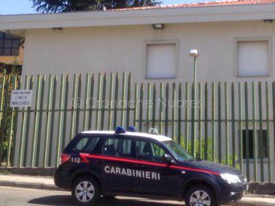 La caserma dei Carabinieri di Sarule