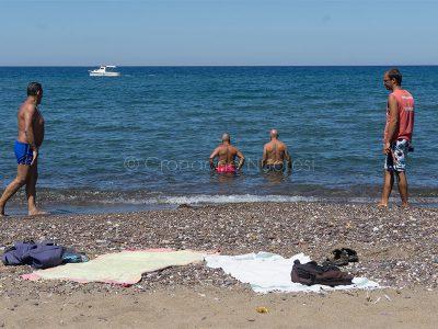 Servizio di salvamento a mare (foto S.Novellu)