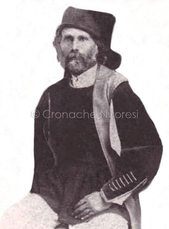 """G.Antonio Ticca, noto """"Perchè"""", che posò per l'arrendatore di Mario Delitala"""