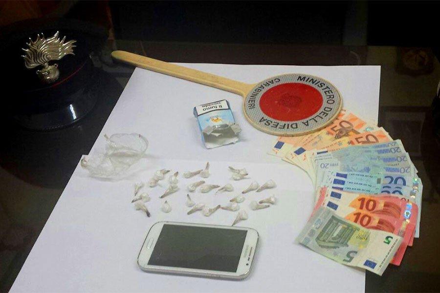 La droga sequestrata ad Arbatax