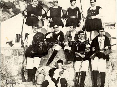 Il Coro Barbagia nel 1966, anno della fondazione