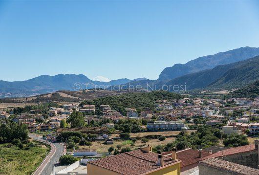 Uno scorcio dell'abitato di Posada (foto S.Novellu)