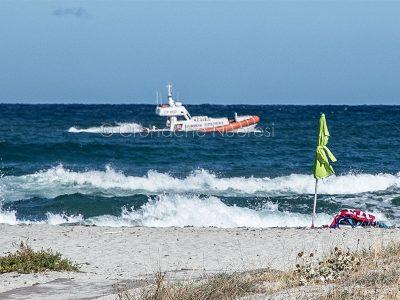 Motovedetta della Guardia Costiera (foto S.Novellu)
