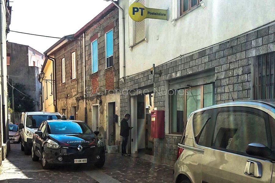 Bolotana, l'Ufficio Postale dopo la rapina