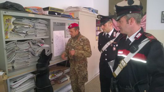Nuoro. L'Istituto Ciusa al setaccio dei Carabinieri