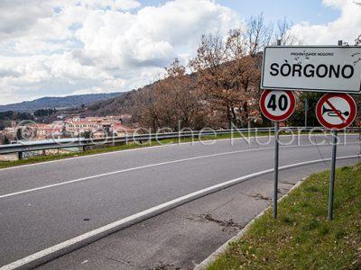 L'ingresso di Sorgono (foto Cronache Nuoresi)