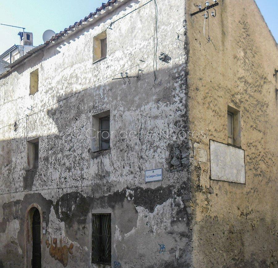 """Il Palazzo Martoni, vecchia sede del Comune di Nuoro, in cui avvennero i Moti """"de Su Connottu"""""""
