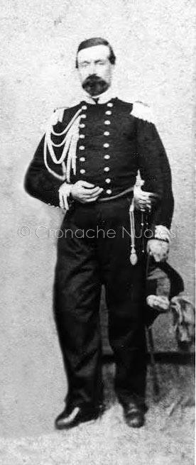 Nuoro il Capitano dei Carabinieri Giacomo Brunero intervenuto per sedare i moti di Su Connottu