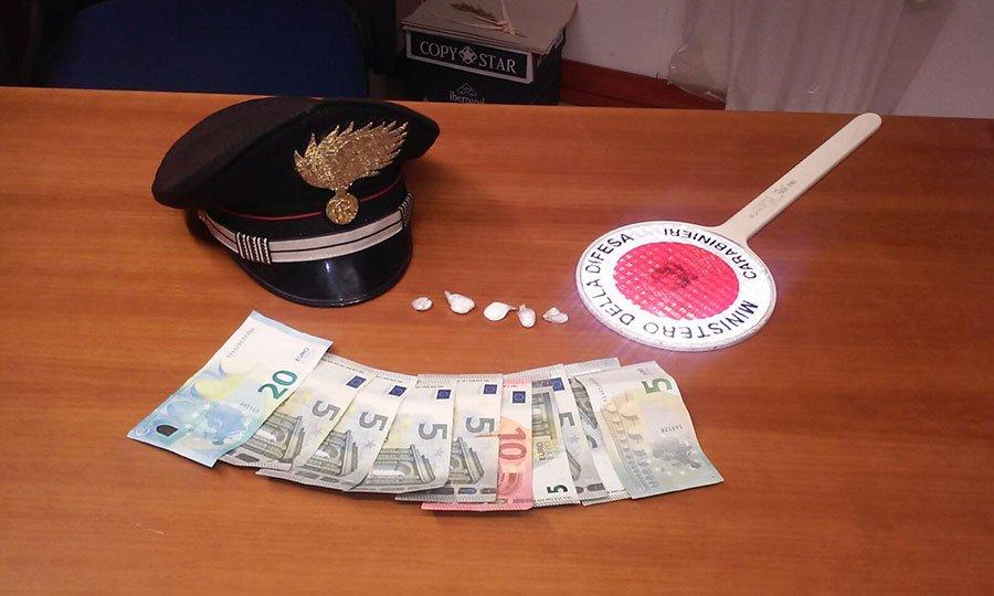 Una parte della droga sequestrata a Bari Sardo