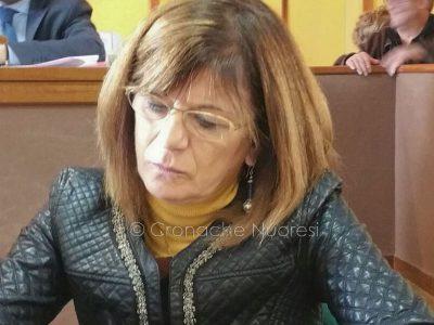 L'asserssore alla Viabilità Maria Boi (foto Cronache Nuoresi)
