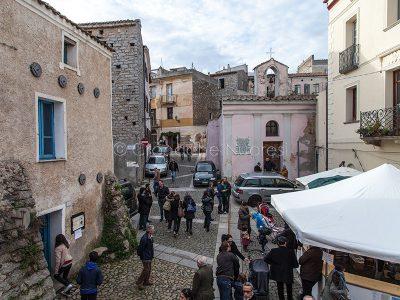 Nuoro. Uno scorcio di Santu Predu durante Mastros in Nugoro (foto Cronache Nuoresi)