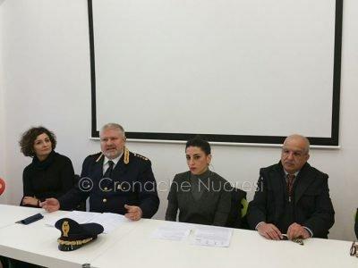 La conferenza stampa sul Bullismo (foto Cronache nuoresi)