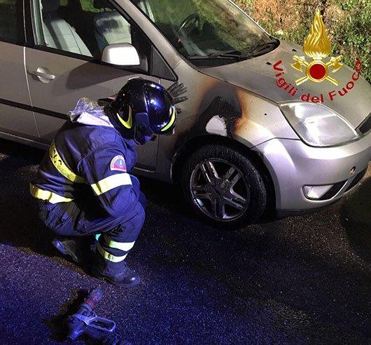 La Ford Fiesta presa di mira dagli incendiari