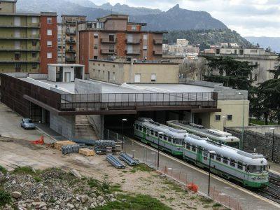 La stazione ferroviaria di Nuoro (foto S.Novellu