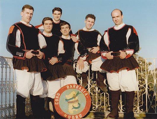 Coro Barbagia di Nuoro, Antonello Sotgiu (I a destra)