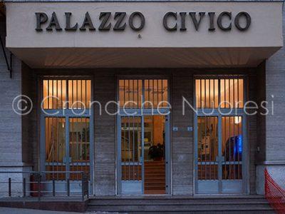 L'ingresso al Palazzo Comunale (foto S.Novellu))