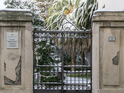 L'ingresso al Museo Archeogico (foto S.Novellu)