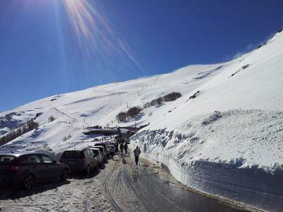 Neve sul Gennargentu