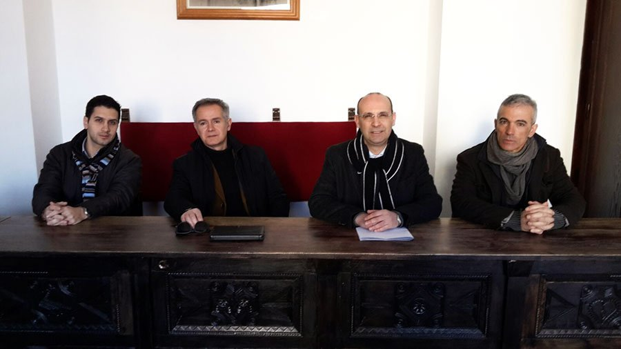 Tore Sulas, Alessandro Bianchi, Leonardo Moro e Gian Pietro Gusai