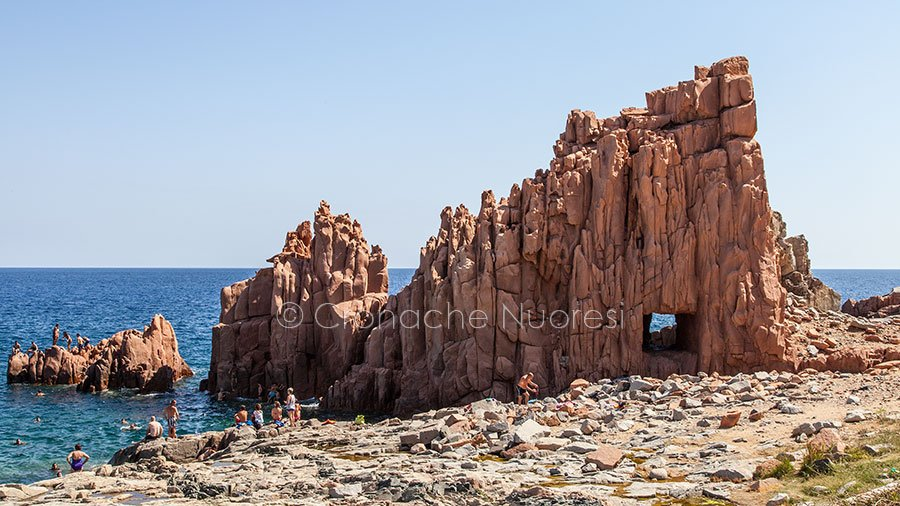 Arbatax, le Rocce rosse (foto S.Novellu)