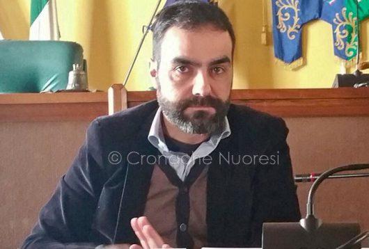 L'assessore all'Ambiente Giuliano Sanna (foto Cronache Nuoresi)