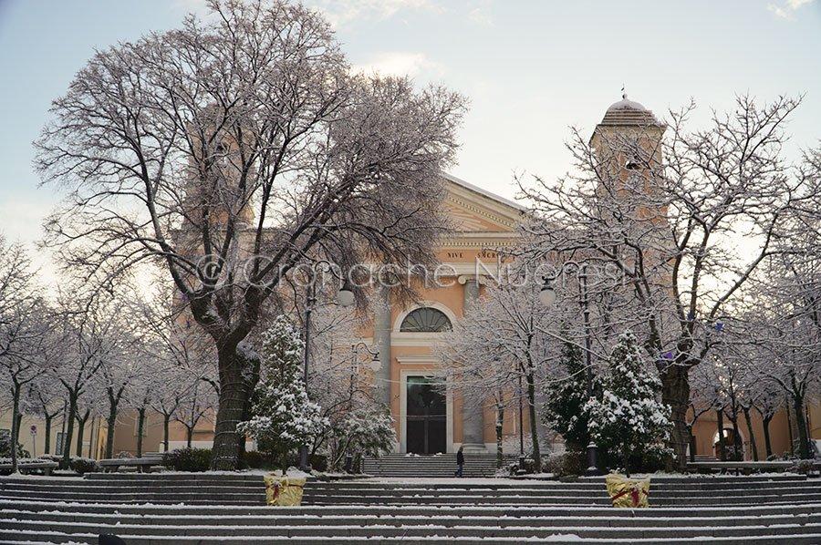 Nuorp. La cattedrale di S.Maria della neve (foto S.Novellu)