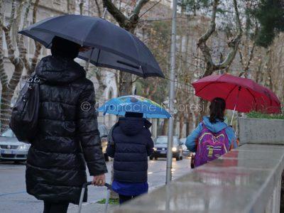 Sotto la pioggia (foto S.Novellu)