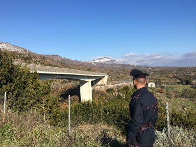 Il ponte che collega Macomer alla statale 129